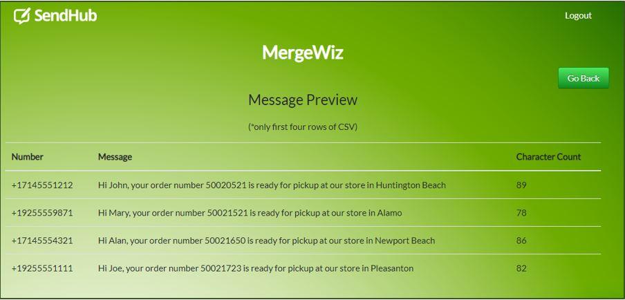 MergeWiz is a new SendHub Feature