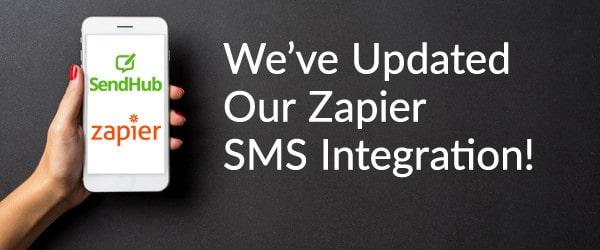 SendHub's Zapier SMS Integration