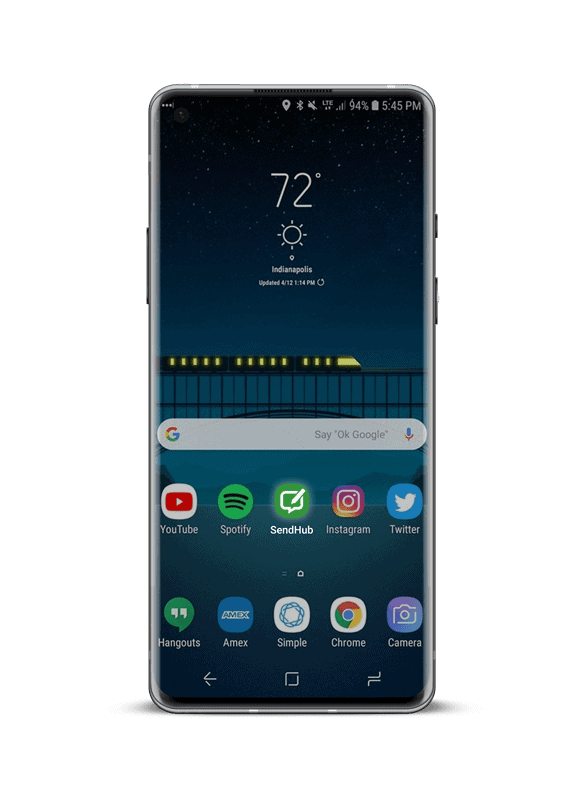 Phone mockup min