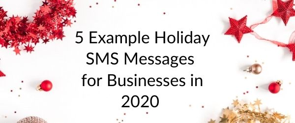 holiday sms